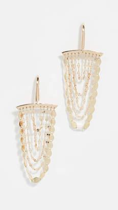 Lana 14k Small Cascade Earrings
