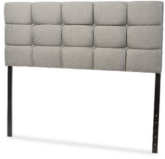 Baxton Studio Bordeaux Modern And Contemporary Faux Leather Headboard