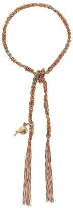 Carolina Bucci 18kt rose gold Lucky Celebration charm bracelet