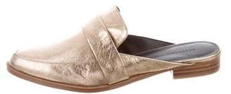 Rebecca Minkoff Metallic Pointed-Toe Mules