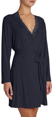 Eberjey Georgina Lace-Trim Robe