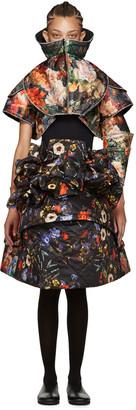 Comme des Garçons Multicolored Brocade Set $10,390 thestylecure.com