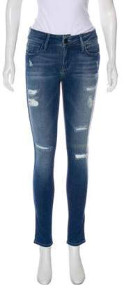 Black Orchid Mid-Rise Skinny Jeans