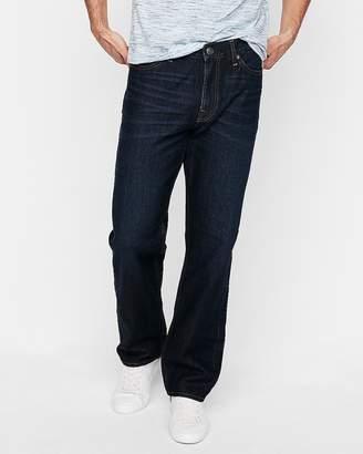Express Loose Straight Dark Wash 100% Cotton Jeans