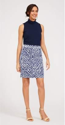 J.Mclaughlin Halle Reversible Skirt in Tigereyes Texture