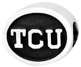 QVC Sterling Silver Texas Christian University Bead