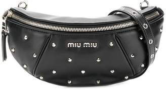 Miu Miu spike studded belt bg