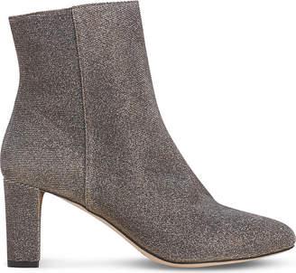 LK Bennett Leelah metallic ankle boots