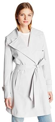Trina Turk Women's Phoebe Trench Coat,8