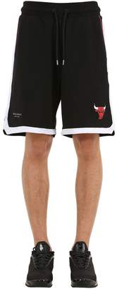 Marcelo Burlon County of Milan Chicago Bulls Cotton Jersey Shorts