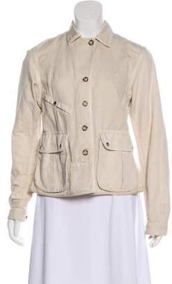 Prada Sport Button-Up Casual Jacket