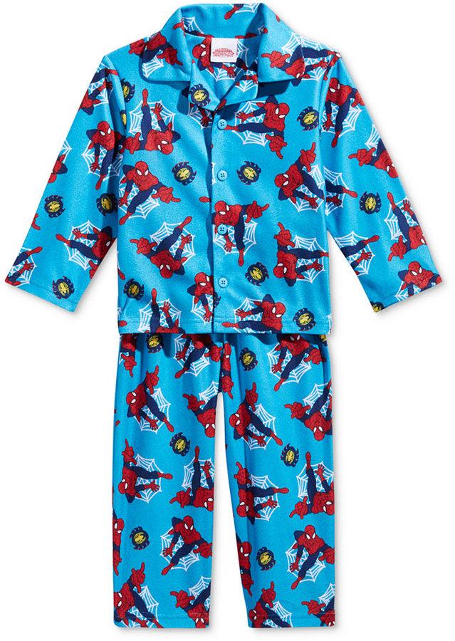 AME 2-Pc. Spider-Man Pajama Set, Toddler Girls (2T-4T)