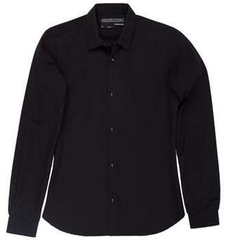 The Kooples Woven Button-Up Shirt