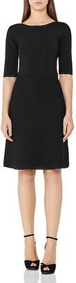 REISS Celestia Knit Dress $340 thestylecure.com