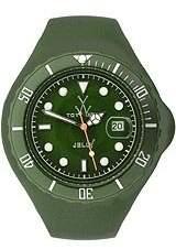 Toy Watch ToyWatch Women's JTB20HG Jelly Quartz Dial Plastic Watch