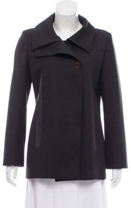 Barbara Bui Wool Button-Up Jacket