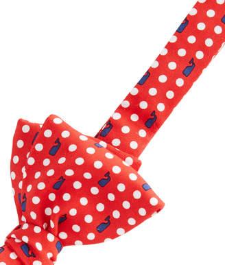 Vineyard Vines Polka Dot Whale Bow Tie