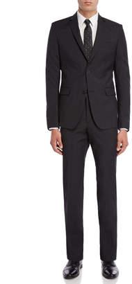 Versace Two-Piece Dark Grey Suit