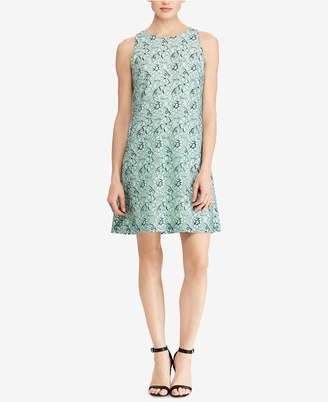 American Living Floral-Print Trapeze Dress