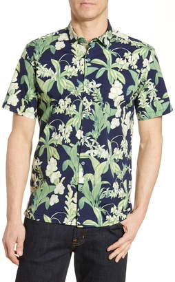 Tori Richard Botanist Short Sleeve Floral Button-Up Shirt