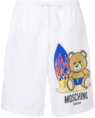 Moschino Toy bear swim shorts