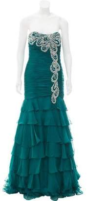 Jovani Embellished Strapless Dress w/ Tags