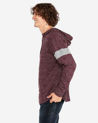 Express Drop Shoulder Arm Stripe Hoodie