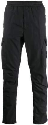 straight-leg logo trousers