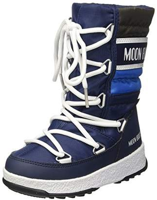 Moon Boot Unisex Kids' We Quilted Jr Wp Snow Boots