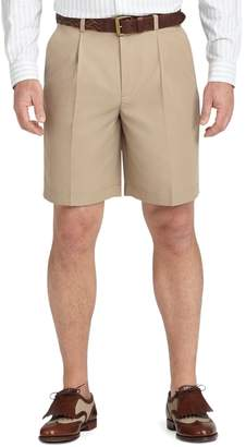 Brooks Brothers St Andrews Links Pleat-Front Shorts
