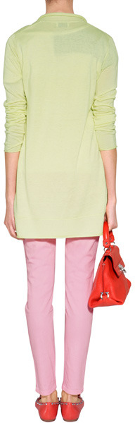 See by Chloe Navy/Black/White Striped T-Shirt