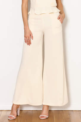 Alythea Solid Flare Pant