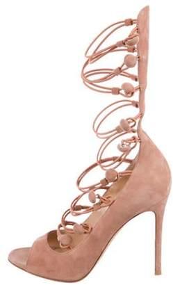 Gianvito Rossi Marquis Suede Sandals Marquis Suede Sandals