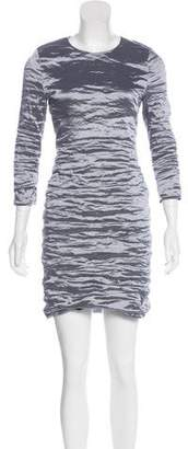 Nicole Miller Metallic Mini Dress