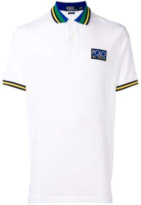 Polo Ralph Lauren striped collar polo shirt