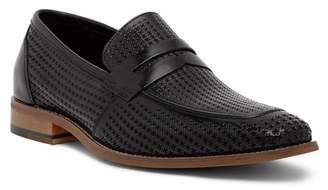 Stacy Adams Belfair Perforated Leather Penny Loafer