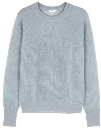 Filippa K Pale Blue Fine-knit Mohair-blend Jumper