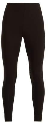 Skin - Calypso Cotton Leggings - Womens - Black