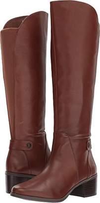 Anne Klein Women's Jela Leather Fashion Boot