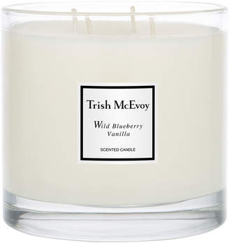 Trish McEvoy Limited Edition Luxury Wild Blueberry Vanilla Scented Candle
