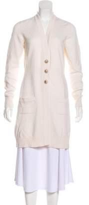 Chanel Cashmere Longline Cardigan
