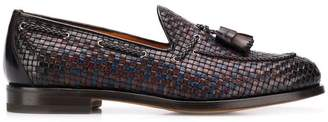 Santoni tassel oxford shoes