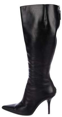Michael Kors Leather Knee-High Boots