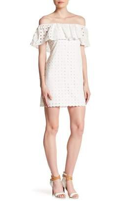 Cynthia Steffe Allison Off-the-Shoulder Cutout Dress