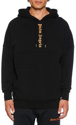 Palm Angels Men's Logo Hoodie Sweatshirt