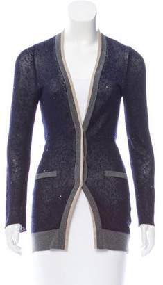 Brunello Cucinelli Sequin V-Neck Cardigan
