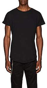 Chapter MEN'S SLUB COTTON-BLEND JERSEY T-SHIRT - BLACK SIZE XL