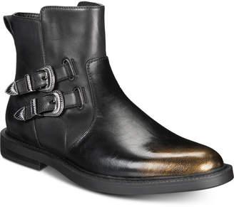 INC International Concepts I.n.c. Men Outlaw Buckle Boots, Men Shoes