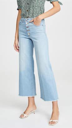 Veronica Beard Jean Kirra Flood Length Jeans
