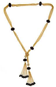 Loren Hope Flapper Tassel Lariat Necklace